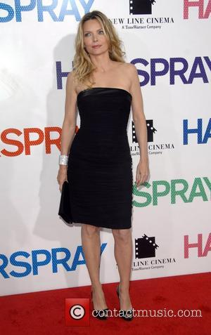 Michelle Pfeiffer New York premiere of 'Hairspray' held at the Ziegfeld theatre - Arrivals New York City, USA - 16.07.07