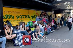 Harry Potter fans are already lining up outside of Waterstones awaiting the release of the final book in the series...