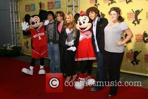 Ashley Tisdale, Corbin Bleu and guests Gala of Disney's High School Musical: The Ice Tour - Red Carpet arrivals Los...
