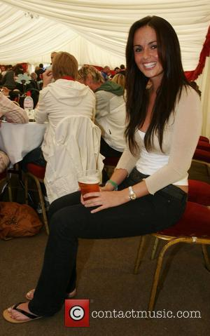 Jennifer Metcalfe Soapstars from Hollyoaks and Emmerdale at the charity football match in support of Jack and Lewis Bird Held...