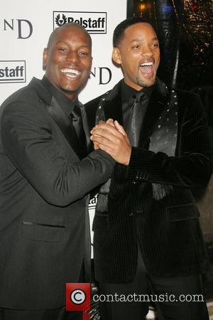Tyrese Gibson and Will Smith New York Premiere of 'I Am Legend' at Madison Square Garden New York City, USA...