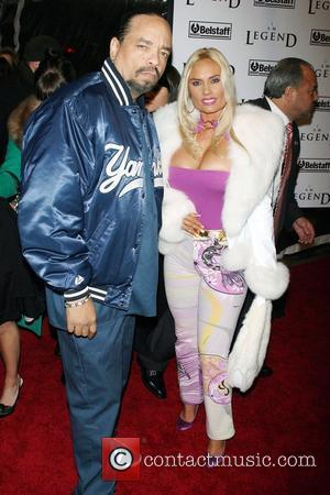 Ice T and CoCo New York Premiere of 'I Am Legend' at Madison Square Garden New York City, USA -...