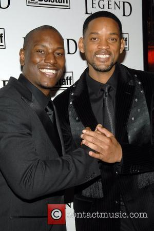 Tyrese Gibson, Will Smith New York Premiere of 'I Am Legend' at Madison Square Garden New York City, USA -...