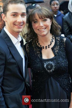 Shia LeBeouf and Karen Allen New York premiere of 'Indiana Jones and the Kingdom of the Crystal Skull' at AMC...