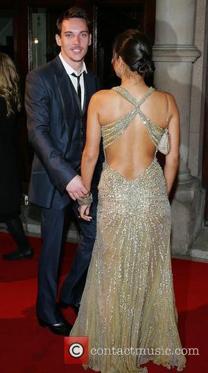 Jonathan Rhys Meyers and Rheena Hammer Irish Film and TV Awards 2008 held at the Gaiety Theatre - Arrivals Dublin,...