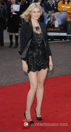 Gwyneth Paltrow at the premiere of 'Iron Man' at Odeon, Leicester Square London,England- 24.04.08