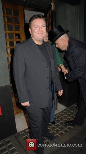 Gervais Sings Tv Theme Tune