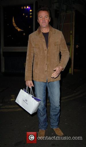 Paul Young leaving the Ivy restaurant London, England - 29.10.07