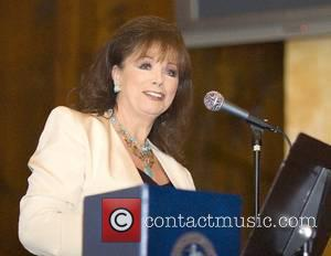 Jackie Collins Credits 'Chauvinistic' Dad For Success