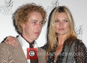 James Brown and Kate Moss