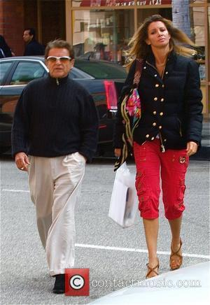 Joe Pesci and Angie Everhart