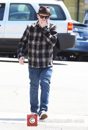 Benji Madden stopping to get coffee at Starbucks in West Hollywood Los Angeles, California - 22.04.08