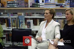 Dame Julie Andrews and her daughter Emma Walton Hamilton read from their 2006 book 'The Great American Mousical' at the...