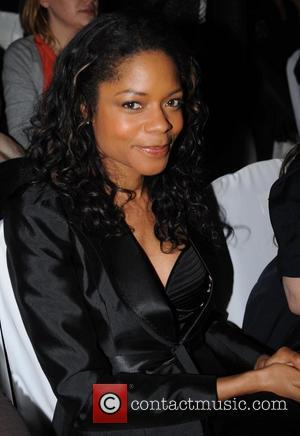 Naomie Harris London Fashion Week Autumn/Winter 2008 - Julien Macdonald - Front Row London, England - 15.02.08