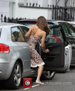 Kate Middleton leaving her house this morning on her way to work London, England - 21.06.07