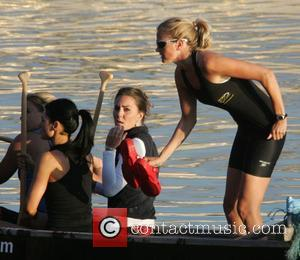 Kate Middleton training with the Sisterhood team who are crossing the English channel later this month  London, England -...
