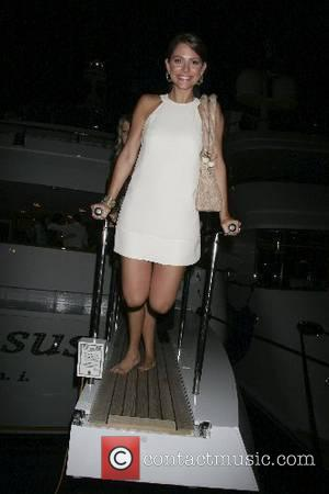 Maria Menounos 2007 Cannes Film Festival Day 3 - Kid Rock's Yacht Party on the Oasis Yacht - Departures Cannes,...