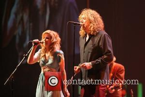 Alison Krauss and Robert Plant performing in concert at the Wembley Arena London, England - 22.05.08