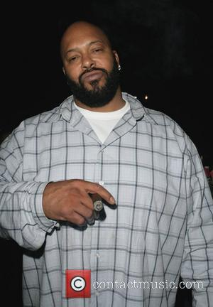 Marion 'suge' Knight Leaving Les Deux Nightclub