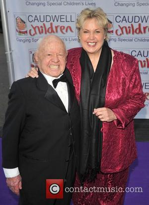 Mickey Rooney and Guest Caudwell Children Present The Legends Ball at the Battersea Evolution - Arrivals London, England - 08.05.08