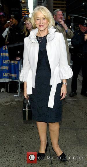 David Letterman, Helen Mirren