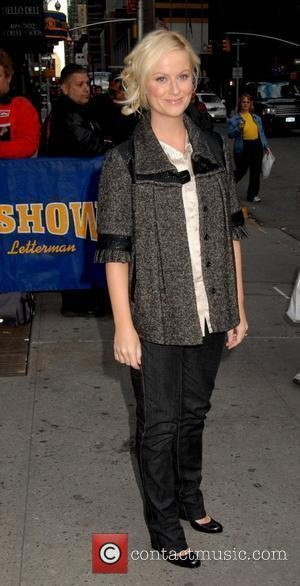 Amy Poehler outside the Ed Sullivan Theatre for the 'Late Show With David Letterman' New York City, USA - 14.04.08