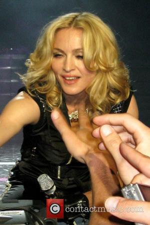 Madonna In Tears In Africa