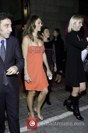 Elizabeth Hurley Leaving the 2007 Mango Fashion Awards at the Casa de Llotja  Barcelona, Spain - 06.11.07