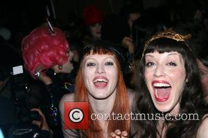 Karen Elson and Sarah Sophie Flicker Mercedes-Benz Fashion Week Fall 2008 - Marc Jacobs - After Party New York City,...