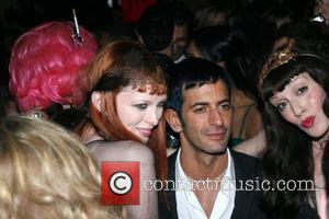 Karen Elson, Marc Jacobs and Sarah Sophie Flicker Mercedes-Benz Fashion Week Fall 2008 - Marc Jacobs - After Party New...