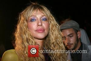 Courtney Love Mercedes-Benz Fashion Week New York Spring 2008 at The Armory - Marc Jacobs - Inside New York City,...