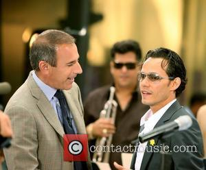 Marc Anthony and Matt Lauer on NBC Today Show Morning Concert Series at Rockefeller Plaza New York City, USA -...