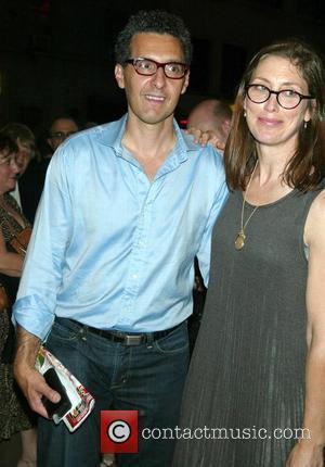 John Turturro and wife Katherine Borowitz Turturro Opening night of the new Broadway play 'Mauritius' at the Biltmore Theatre -...