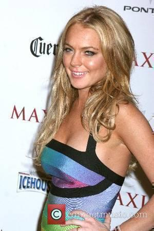 Lindsay Lohan Maxim's 8th Annual Hot 100 Party hosted by Maxim Magazine held at The Hotel Gansevoort - Arrivals New...