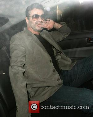 George Michael attends the Linda McCartney Photographs - Private View at the James Hyman Gallery. London, England - 23.04.08