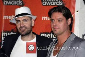 Shane Lynch and Keith Duffy Meteor Irish Music Awards at the RDS - Arrivals Dublin, Ireland - 15.02.08