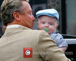 Michael Flatley and his son, Michael Jr arrive for the launch of the Sligo Live Festival 2007  Sligo, Ireland...