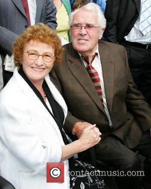 Dancer Michael Flatley's father Michael Flatley (senior) and his mother Eilish Flatley arrive for the launch of the Sligo Live...