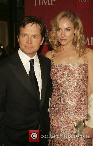 Michael J Fox Steps Out