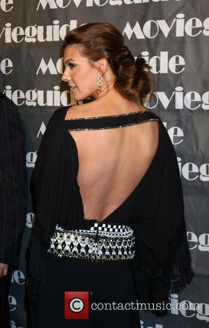 Ali Landry, Movieguide Faith And Value Awards 2008 and Beverly Hilton Hotel