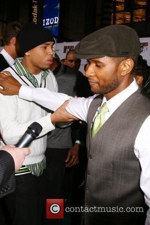 Chris Brown and Usher