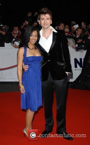 David Tennant and Freema Agyeman National Television Awards held at the Royal Albert Hall - Arrivals London, England - 31.10.07