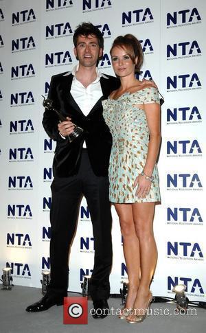 David Tennant and Amanda Holden National Television Awards held at the Royal Albert Hall - Press Room London, England -...