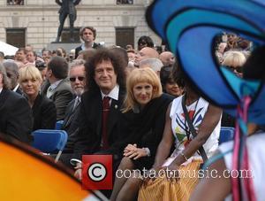 Nelson Mandela, Brian May