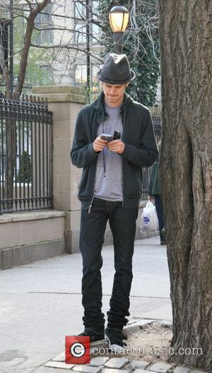 Hayden Christensen filming his new movie 'New York, I Love You' in the West Village New York City, USA -...