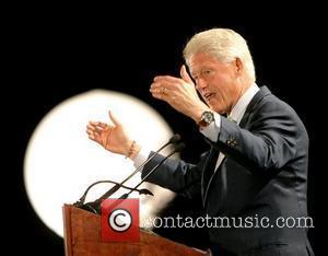 Clinton Hosts Celebrity Party