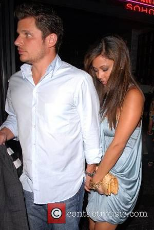 Vanessa Minnillo and Nick Lachey out and about in Soho New York City, USA - 12.06.07