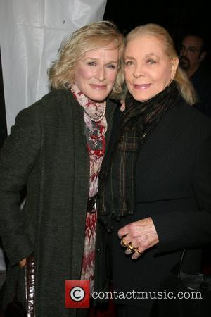 Glenn Close and Lauren Bacall Premiere of 'i'm Not There' at the Clearview Chelsea West Cinema New York City, USA...