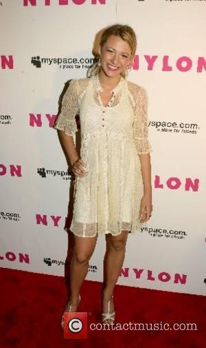 Blake Lively Nylon Magazine & MySpace International Music Issue Concert at Irving Plaza New York City, USA - 13.06.07