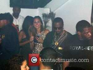 Sean Combs aka P Diddy and his entourage promoting his Sean John clothing line at Ibiza Nightclub DC. Washington DC,...